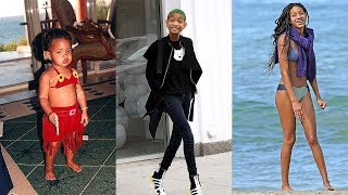 Willow Smith Transformation 2018 || From 0 To 17 Years Old