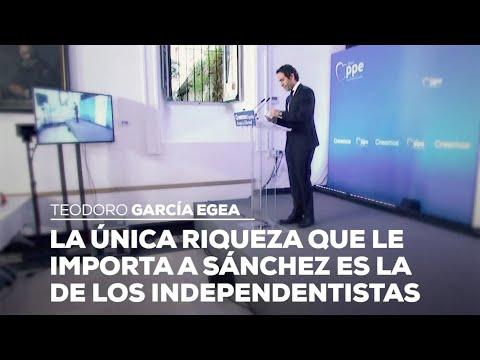La única riqueza que le importa a Sánchez es la de los independentistas