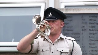 Meet a Bugler From 4 RIFLES Keeping a Tradition Alive | Forces TV