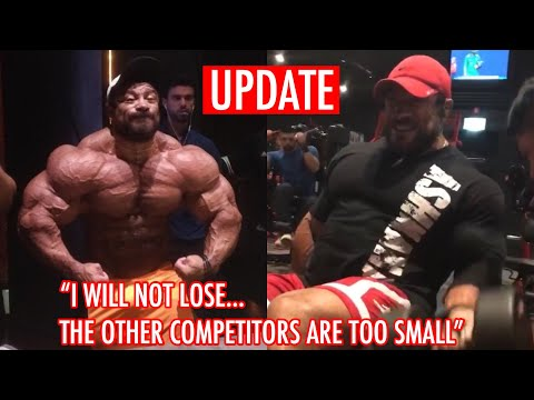 Roelly Winklaar New Progress Pic 1 Week Out Arnold Classic!! LOOKS INSANE