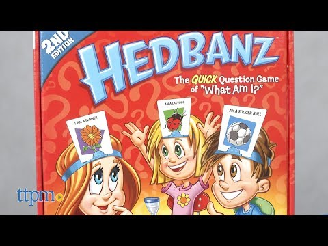 Hedbanz 2nd Edition From Spin Master