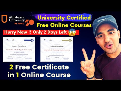 Uk University Offers Free Online Courses With Certificate - YouTube