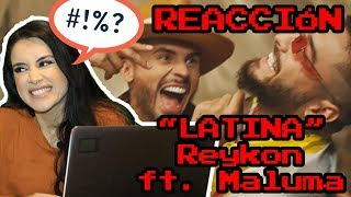 Reykon   Latina (Feat. Maluma)[Video Oficial Reacción]