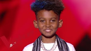 Jean Claude Viadère - La pli y vé tombé | Soan | The Voice Kids France 2019 | Blind Audition