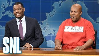 Weekend Update: LaVar Ball on Sons LaMelo and LiAngelo - SNL
