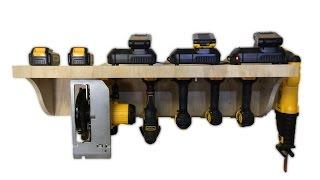 BUILD: Modular Tool Charging Station