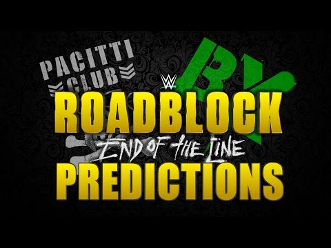 WWE Roadblock: End Of The Line Predictions