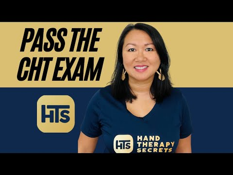 How To Prepare For The Certified Hand Therapy Exam In November ...