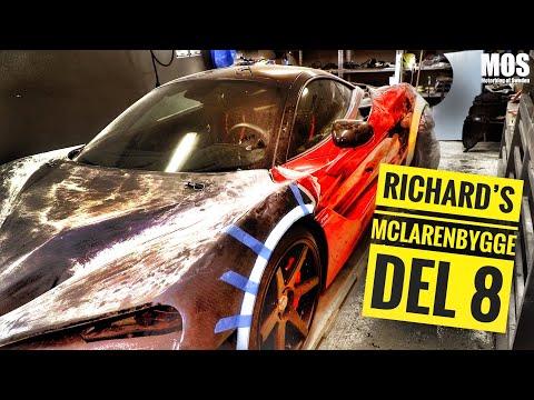 Richard´s McLarenbygge del 8