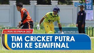 Tim Cricket Putra DKI Jakarta Melaju Ke Semifinal, Berhasil Unggul dengan Skor 53-50 dari NTT