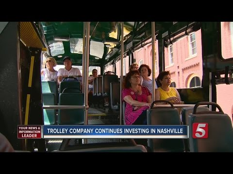 Trolley Sees Success In Nashville Tour Business