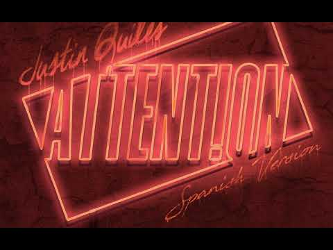 Letra Attention (Spanish Version) Justin Quiles