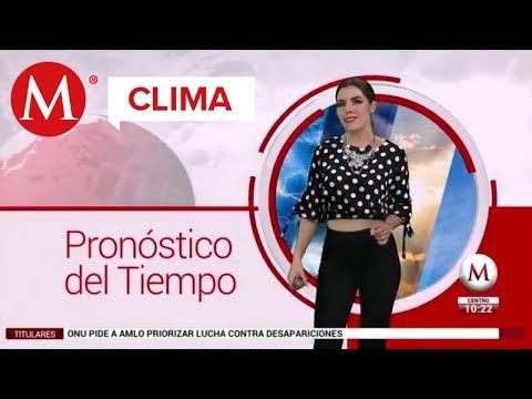 El clima para hoy, 30 agosto 2018 con Marilú Kaufman