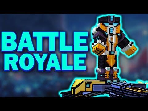 Pixel Gun 3D - Battle Royale : Ninja Cyborg | Top-1???