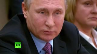 Путин: Власти не планируют отказываться от плавающего курса рубля