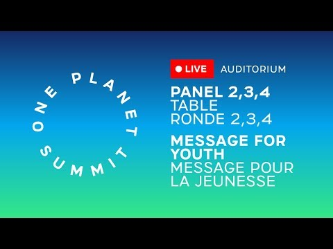 Le One Planet Summit en direct