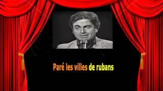 Karaoké Guy Béart   - Les couleurs du temps