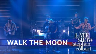 Walk The Moon Performs