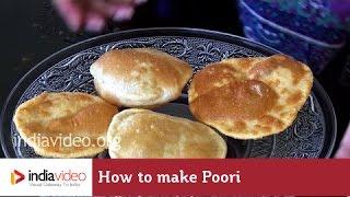 Easy steps to make Poori / How to make poori