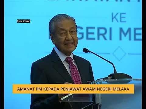 Buletin AWANI Khas: Amanat PM kepada penjawat awam negeri Melaka
