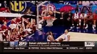 Oklahoma City Thunder draft Dakari Johnson in The 2nd Round of The 2015 NBA Draft