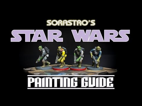 Sorastro's Star Wars Imperial Assault Painting Guide Ep.8: Trandoshan Hunters