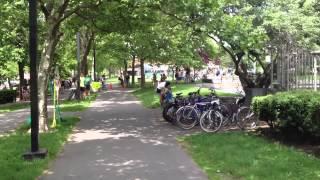 Bikes Not Bombs bike-a-thon 2014