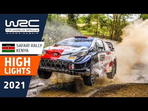 WRC 2021 WRC第6戦ラリー・ケニア SS11-13のハイライト動画