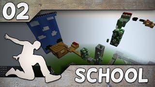 PARKOUR SCHOOL #2 | NAURETTAVIN MENO!   W Glyffi