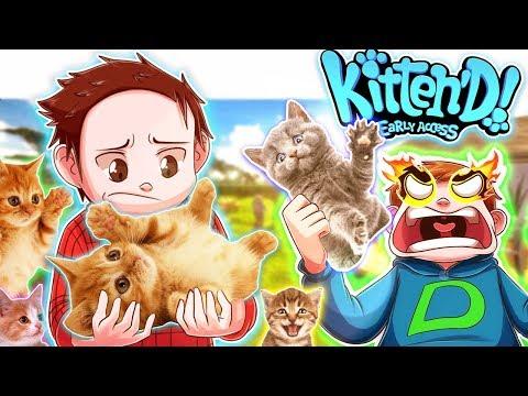 DUFIX passt auf MEINE *NEUE* KATZE auf!   Katzen Simulator