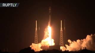 SpaceX Internet! Falcon 9 with 60 satellites on board blasts off from Cape Canaveral