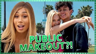 HIGH SCHOOL MAKE OUT CHALLENGE | Do It For The Dough w/ Eva Gutowski & ALL NIGHT CAST!