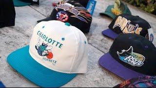 Huge Haul of Vintage Snapbacks! 15+ Hat Pickup Video!!