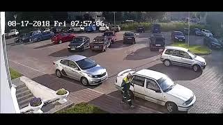 Аварии на дорогах, приколы на дороге 2018 1