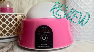 Steam Off Gel Removal System: REVIEW