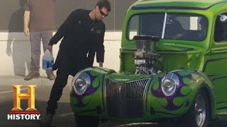 Counting Cars: Danny and George Have a Burnout Competition | History