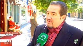 Federico Casado Reina como Psicólogo en Canal Sur Noticias - 6/12/2017 - Federico Casado Reina