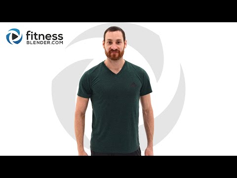 37 Minute HIIT Cardio and Core Workout – Total Body HIIT and Abs Workout