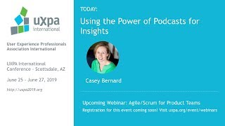 Listen In: Using the Power of Podcasts for Insights