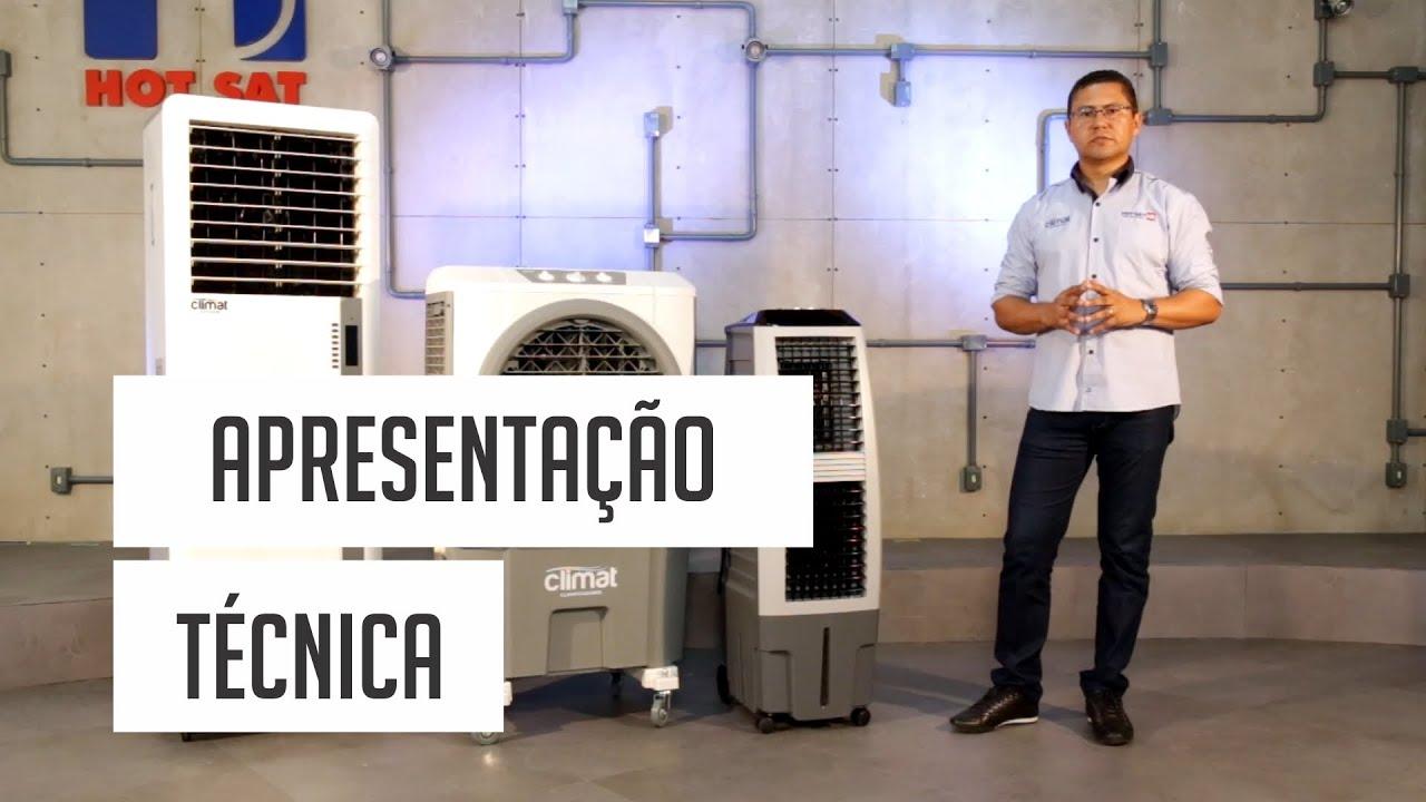 Climatizadores Evaporativos – Apresentação Técnica