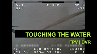 FPV // DVR // Touching the water // El Sisga dam - Colombia