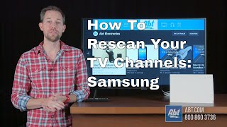 How To Rescan Channels On A Samsung TV