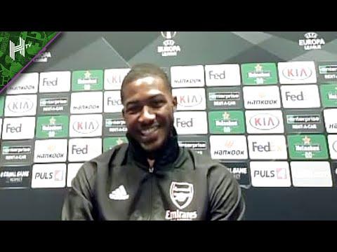 I love Arsenal. Auba is like a brother & calls me Fofty! I Ainsley Maitland-Niles Europa presser