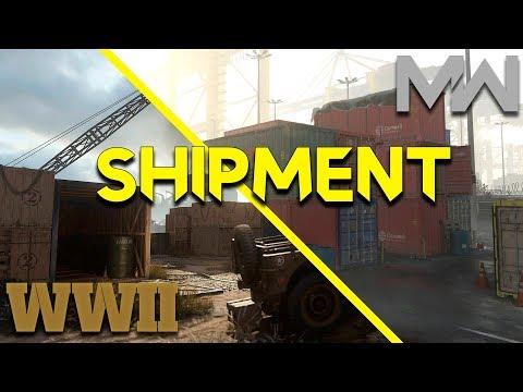 SHIPMENT: WORLD WAR 2 vs MODERN WARFARE, Qual é MELHOR?!