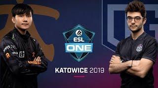 Dota 2 - Fnatic vs. OG - Game 1 - LB Ro2a - ESL One Katowice 2019