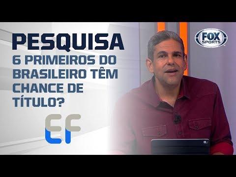 OS 6 PRIMEIROS DO BRASILEIRO TÊM CHANCE DE TÍTULO?