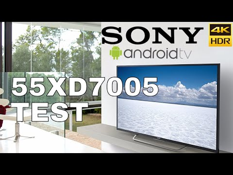 Sony Bravia XD7005  4K Ultra HD Android TV HDR Quick review test