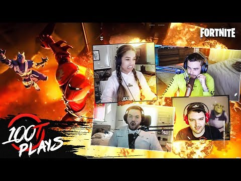 COURAGE'S FIRST OFFICIAL 100T SQUADS | FT. VALKYRAE, NADESHOT & NOAHJ456 - 100T PLAYS