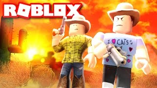 BEING A COWBOY IN ROBLOX