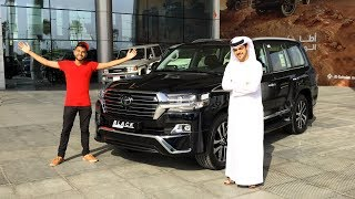 HE GOT ME THE MOST EXPENSIVE LAND CRUISER!! *BLACKED OUT*🔥